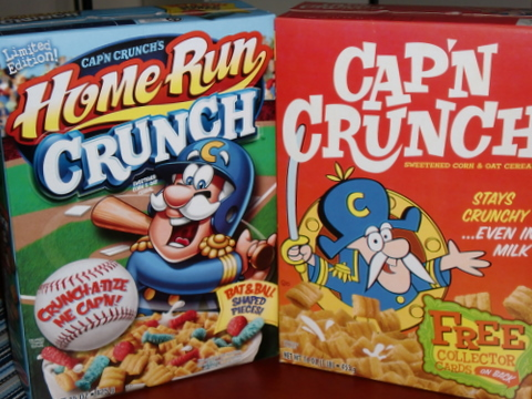 today in wal mart i made an important discovery two new variations on capn crunch throwback crunch and homerun crunch this is why im delivering to you - Captain Crunch Halloween