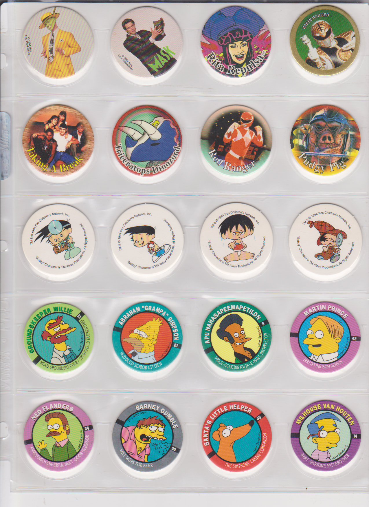 This Totally Sick 1990s Pogs Collection – THE SURFING PIZZA