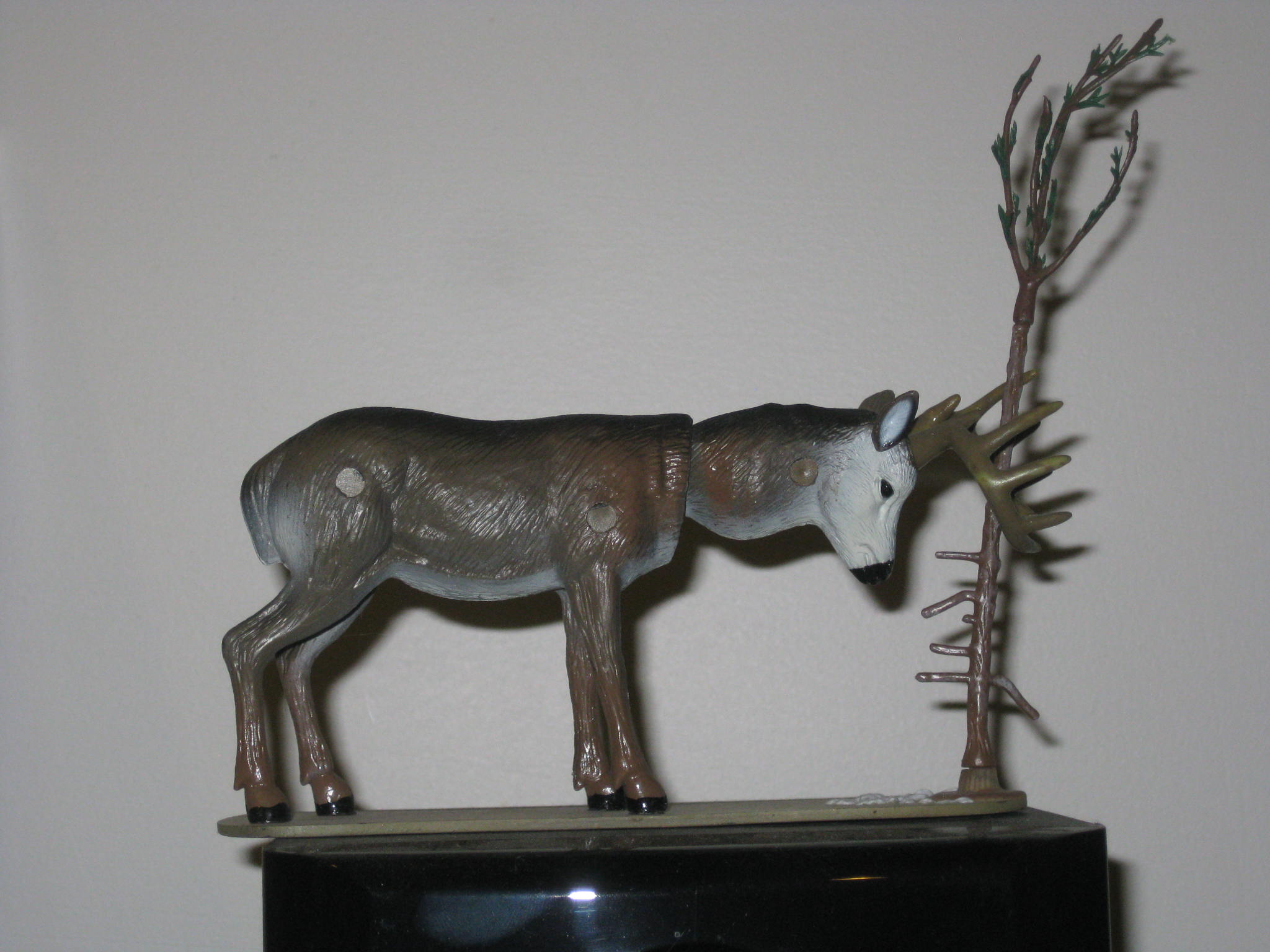Ode To This Deer Bobble Head Tree Wrangling Thing The