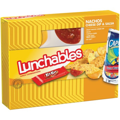 Nachos Lunchable Fan Club on oscar mayer calories