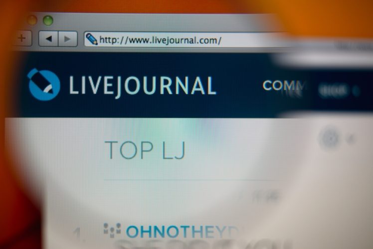LiveJournal-Shutterstock